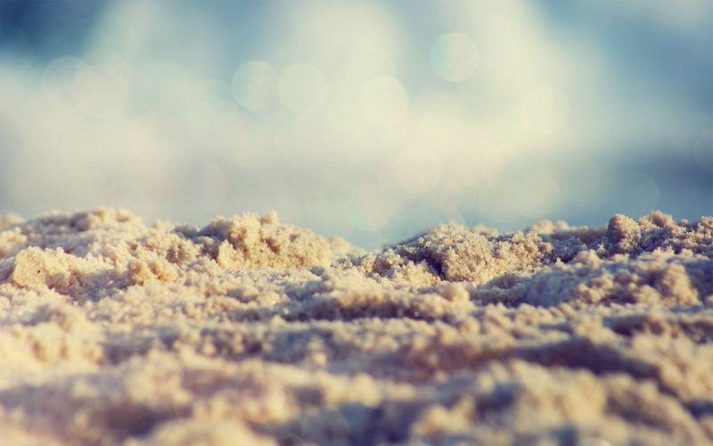 macro sand sea nature wallpaper