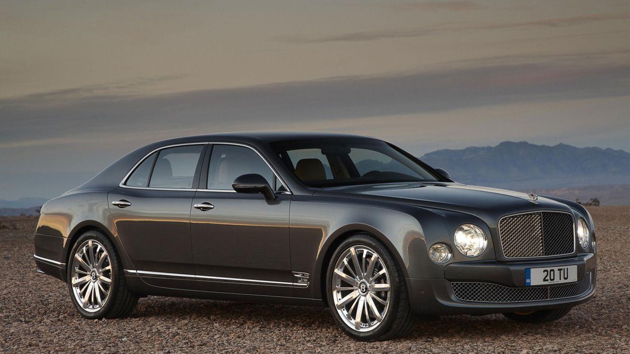 Bentley Mulsanne car vehicle cars wallpaper