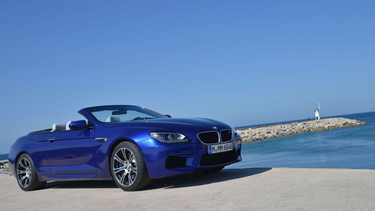BMW M6 convertibile car vehicle cars wallpaper
