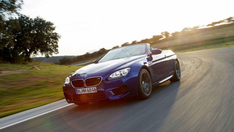 BMW M6 convertibile car vehicle cars wallpaper