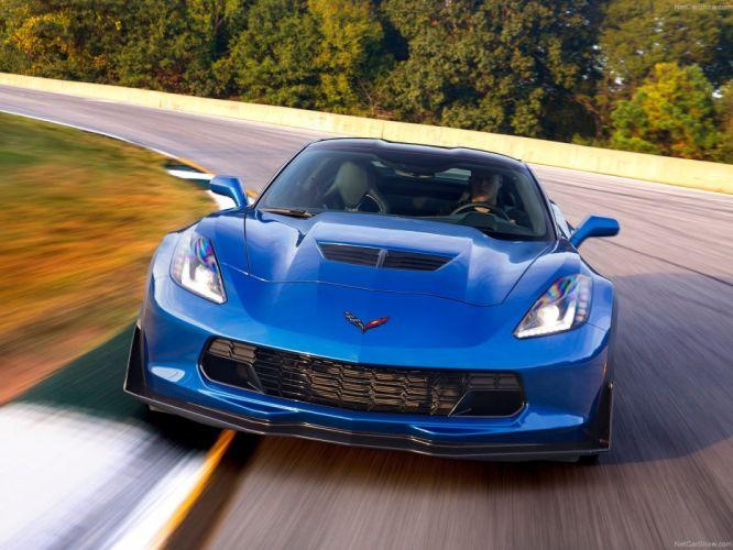Chevrolet Corvette Z06 2015 coupe supercars usa wallpaper