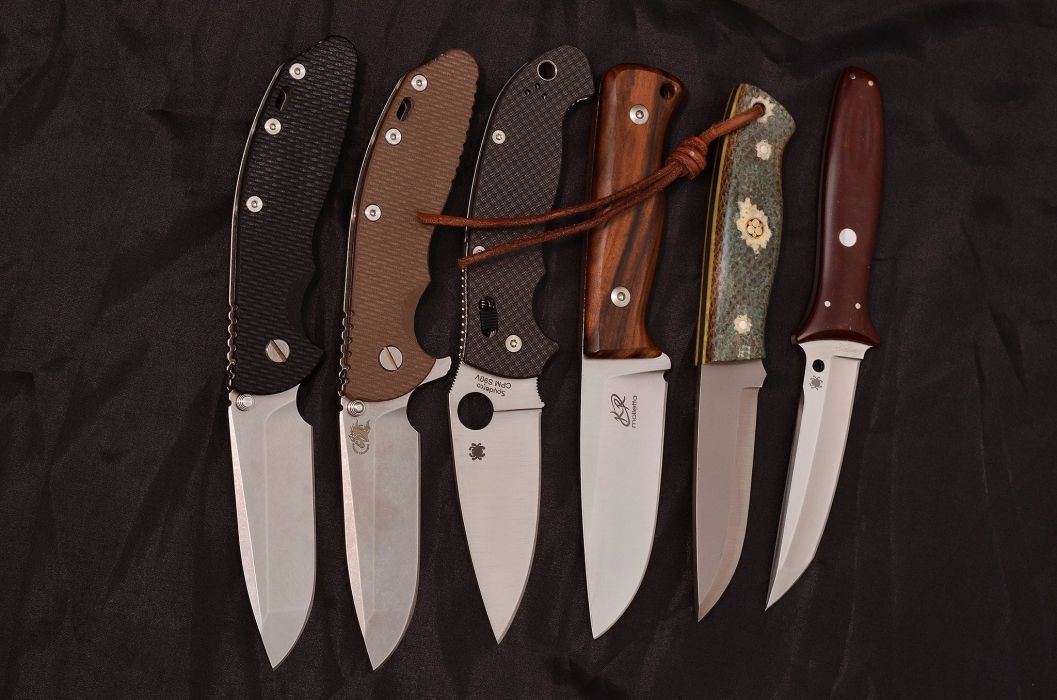 weapon couteau knife hunting steel military wallpaper