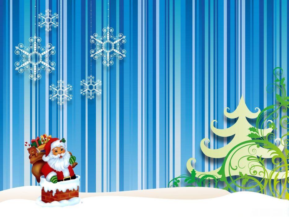 Merry Christmas holiday vacation gifts tree happy beautiful santa snowman lights wallpaper