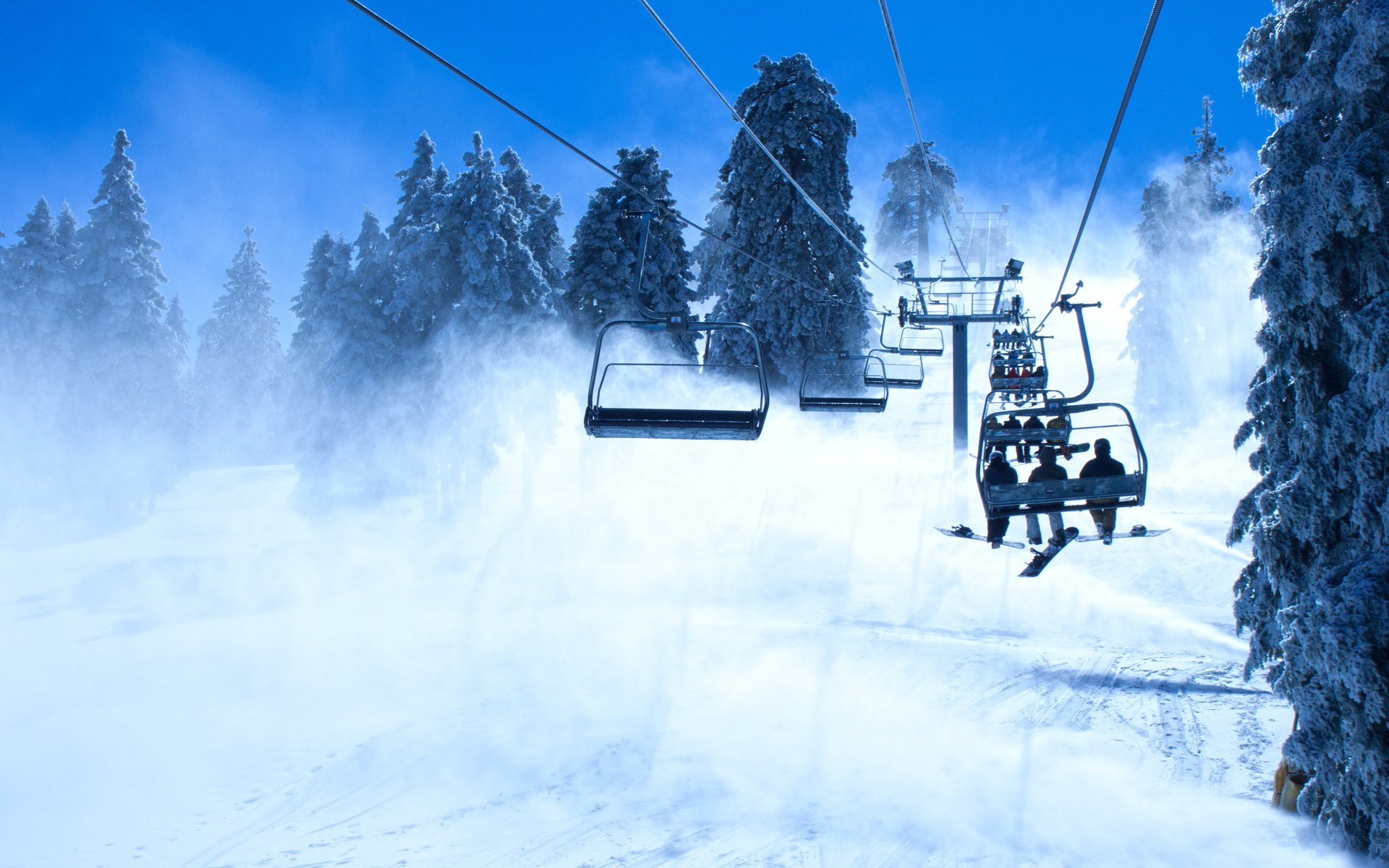 ski lift skiing snowboarding - photo #39
