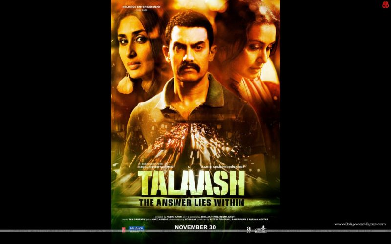 TALAASH bollywood crime drama mystery Kapoor wallpaper
