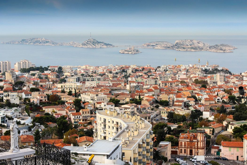 Marseille france provence 13 cities monuments panorama panoramic Urban architecture wallpaper