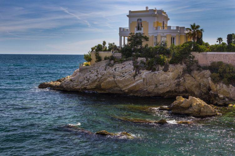 calanques France marseille nature panorama panoramic provence rivages Sea prado plage beach corniche wallpaper
