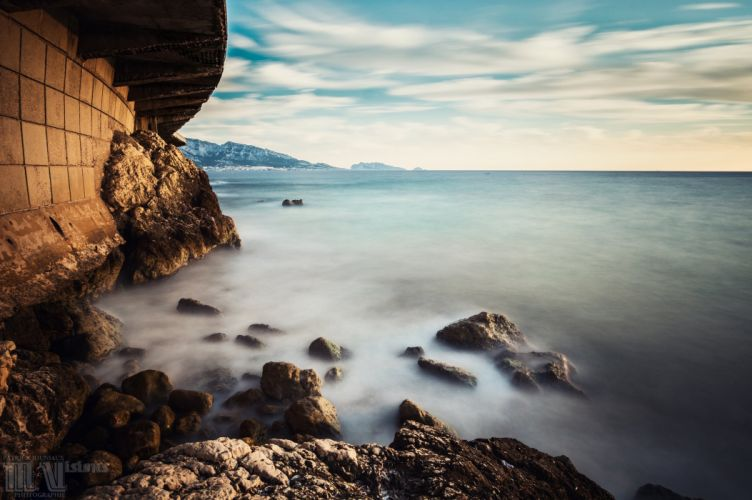 calanques France marseille nature panorama panoramic provence rivages Sea prado plage beach corniche wallpaper
