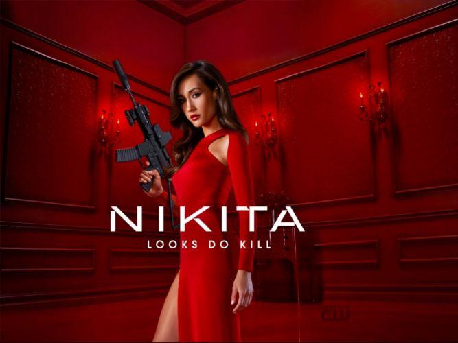 NAKITA series action crime thriller spy sexy babe wallpaper
