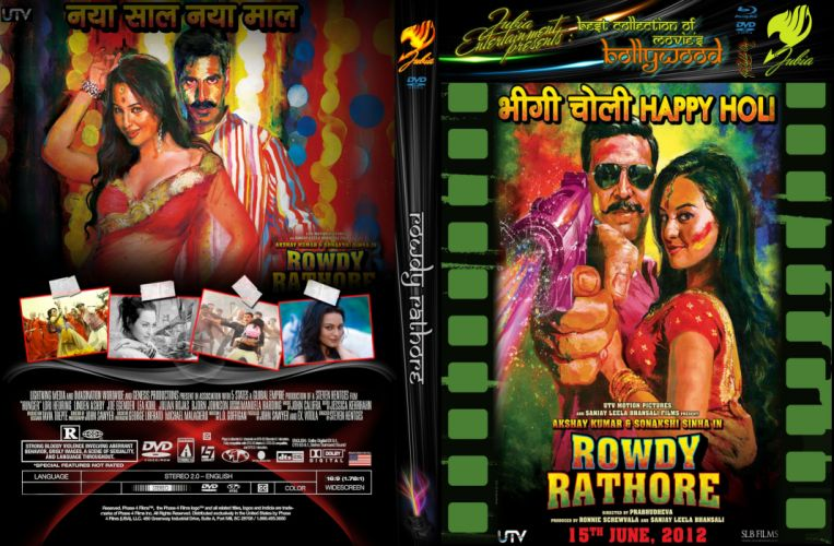 ROWDY RATHORE bollywood action comedy wallpaper