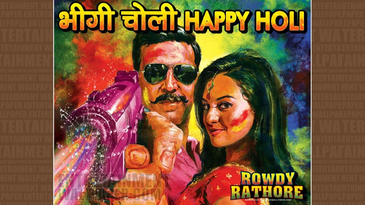 ROWDY RATHORE bollywood action comedy wallpaper