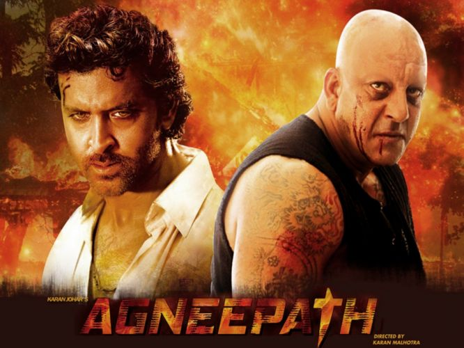 AGNEEPATH bollywood action drama crime romance wallpaper