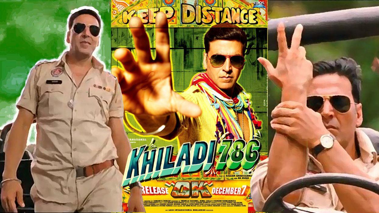 KHILADI 786 bollywood action comedy romance wallpaper