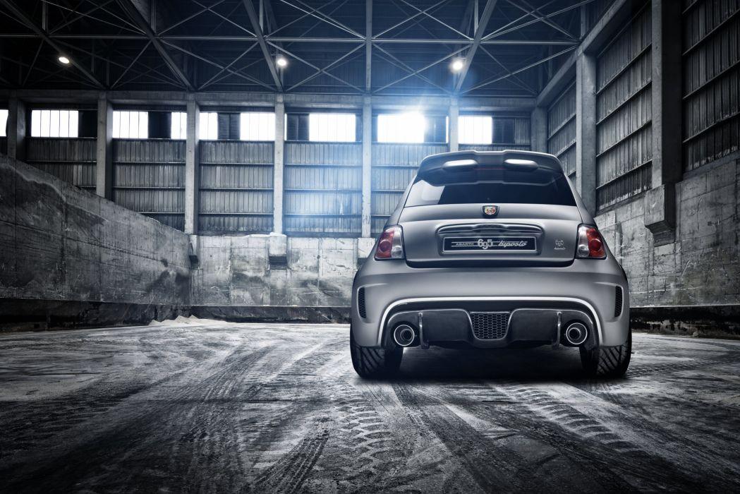 2014 Fiat 500 Abarth 695 Biposto race racing wallpaper