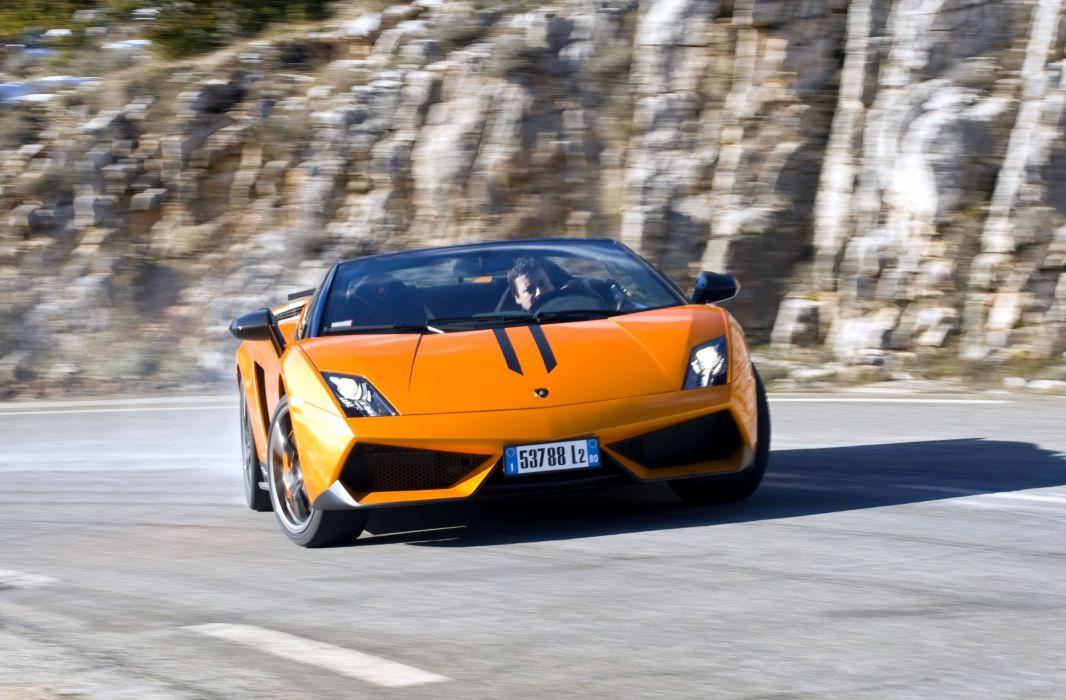2012 Lamborghini Gallardo L 570-4 Spyder Performante supercar wallpaper