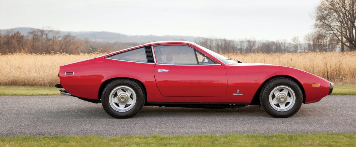 1971 Ferrari 365 GTC-4 US-spec supercar classic wallpaper