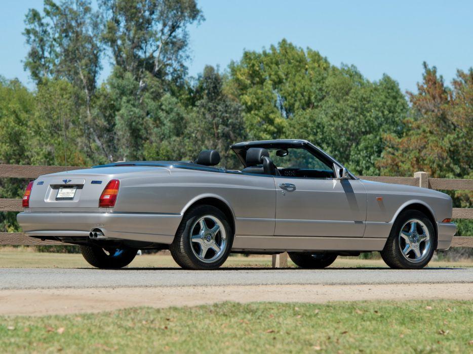 2001 Bentley Azure Mulliner luxury convertible wallpaper