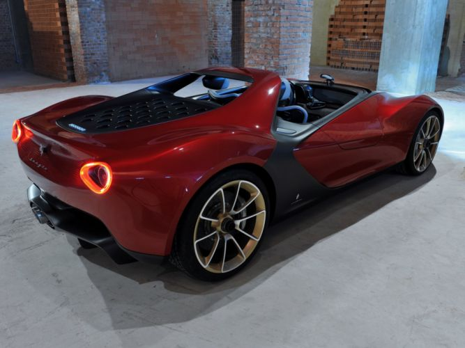 2013 Ferrari Sergio supercar wallpaper