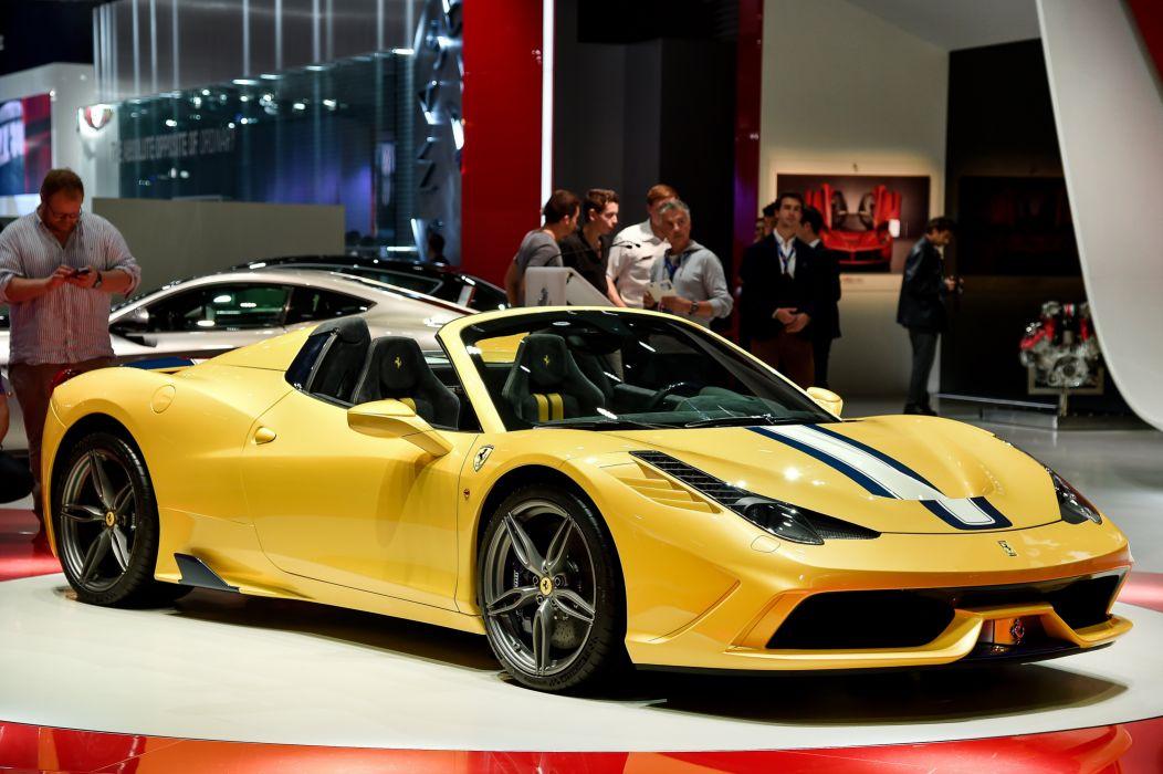 2014 Ferrari 458 Speciale UK-spec supercar wallpaper
