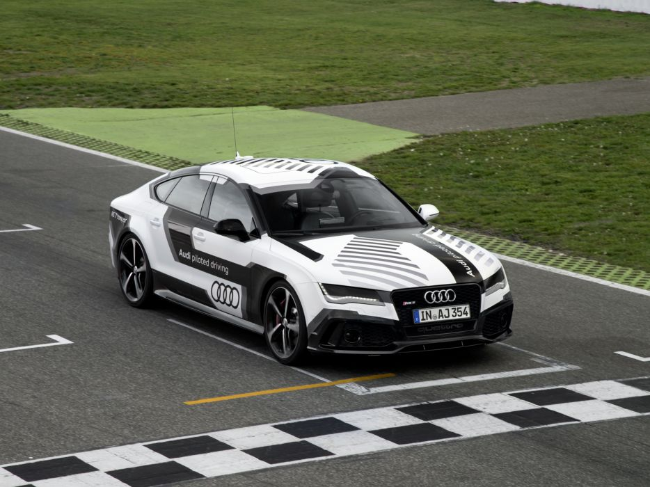 2014 Audi RS7 piloted driving concept r-s wallpaper