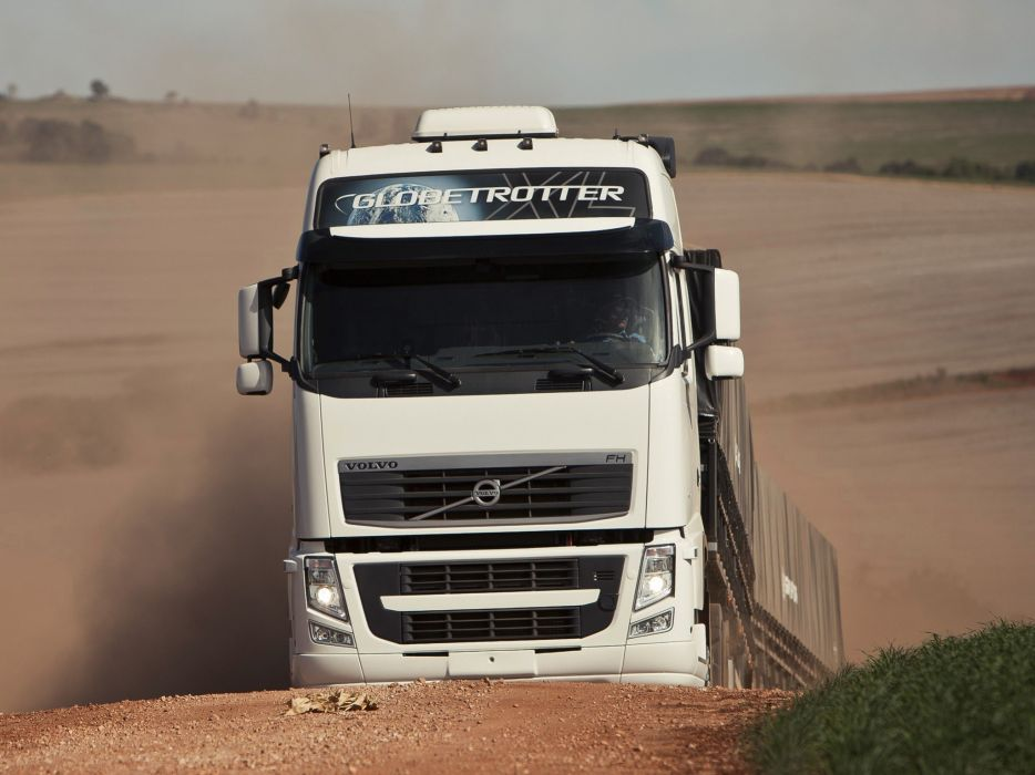 2008 Volvo F-H 540 6x2 semi tractor wallpaper