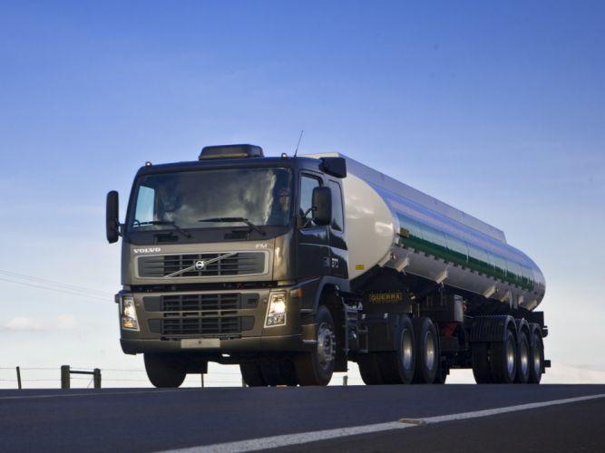 2008 Volvo F-M 370 6x2 semi tractor wallpaper