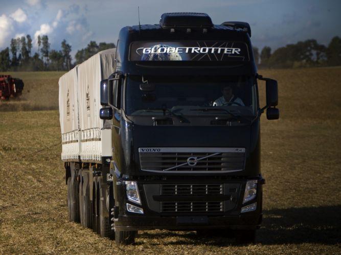 2008 Volvo F-H 520 6x4 semi tractor wallpaper