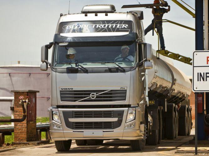 2008 Volvo F-H 480 6x4 semi tractor wallpaper