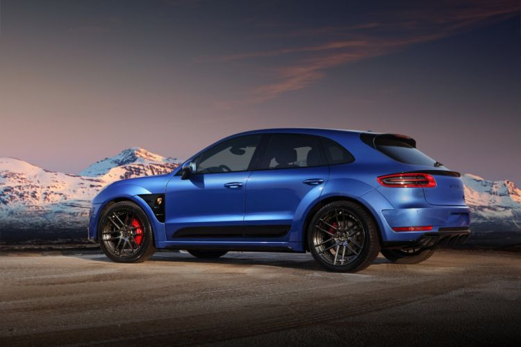 2014 TopCar Porsche Macan Ursa (95B) suv tuning wallpaper