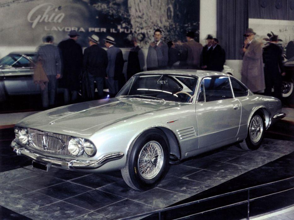 1961 Maserati 5000 G-T Ghia Coupe classic wallpaper