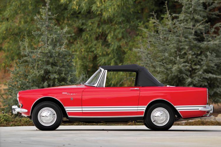 1967 Sunbeam Tiger-II classic convertible tiger wallpaper