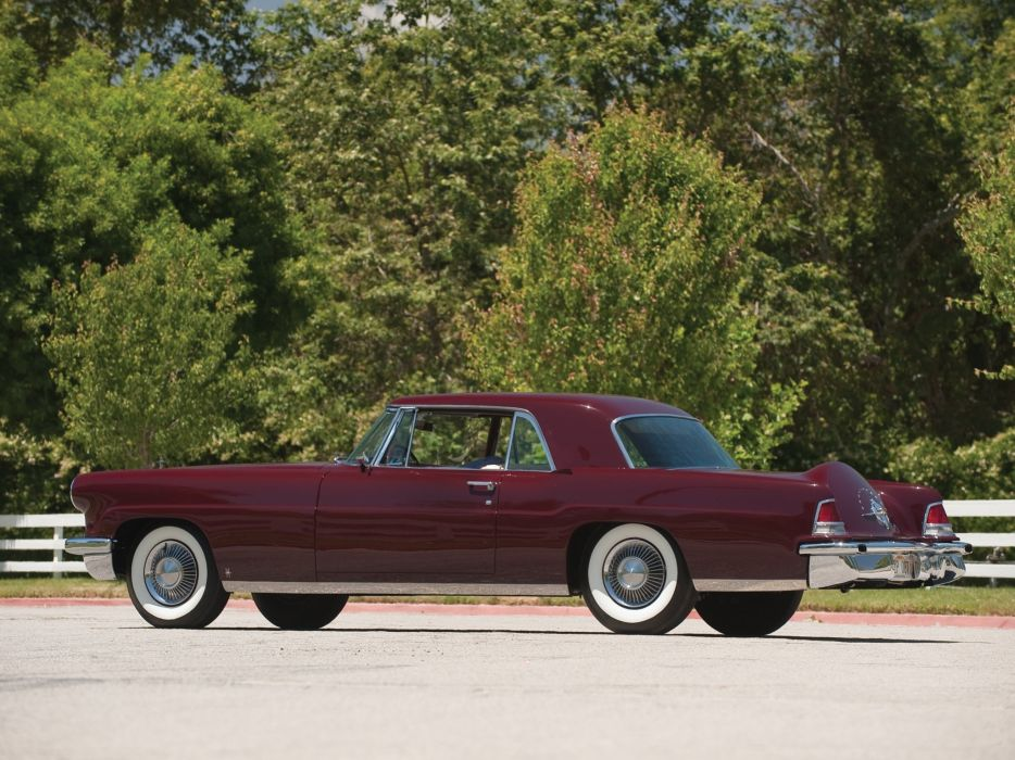 1956 Lincoln Continental Mark-II (60A) luxury retro wallpaper