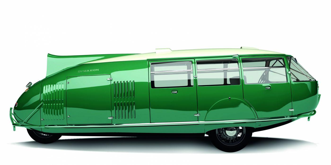 1933 Dymaxion Replica 2010 van retro green suv wallpaper
