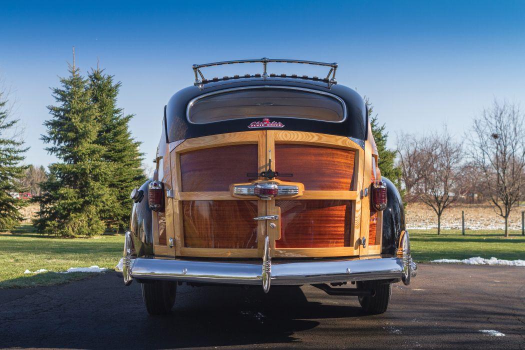 1941 Chrysler Windsor Town Country StationWagon (C-28) retro woody wallpaper