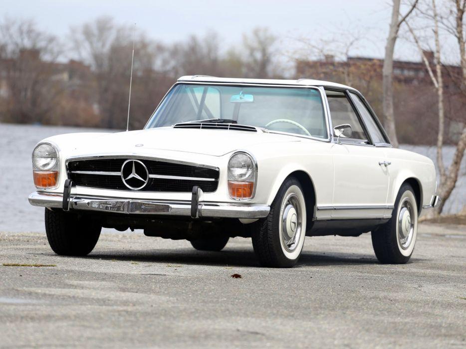 1965 Mercedes Benz 230SL US-spec (W113) 230 s-l classic wallpaper