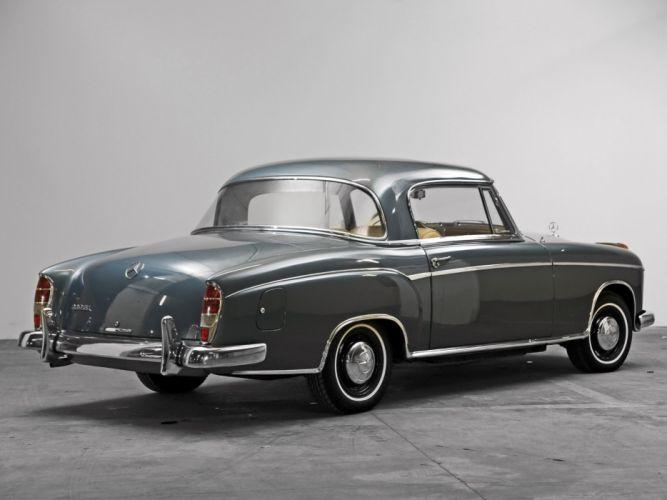 1958 Mercedes Benz 220SE Coupe US-spec (W128) 220 luxury retro wallpaper
