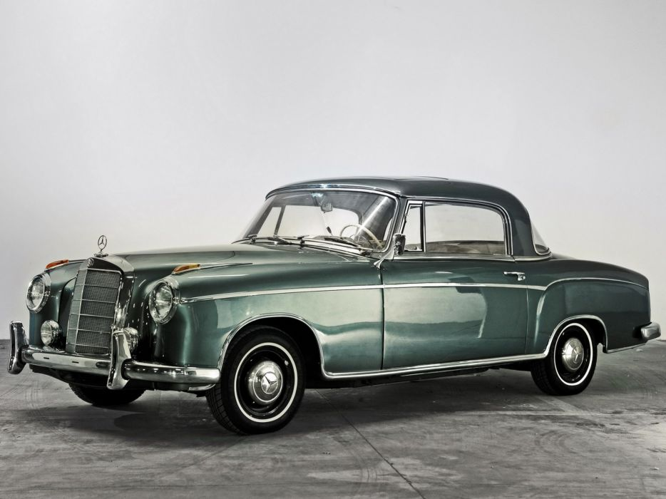1958 Mercedes Benz 220SE Coupe US-spec (W128) 220 luxury retro wallpaper