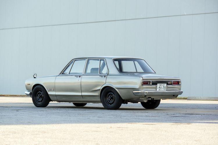 1970 Nissan Skyline 2000GT-R Sedan (PGC10) muscle classic wallpaper