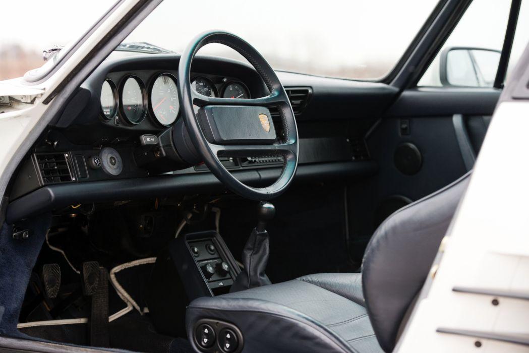 1987-89 Porsche 911 Turbo 3-3 Flachbau Coupe US-spec (930) wallpaper