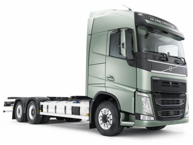2012 Volvo F-H 540 6x2 semi tractor wallpaper
