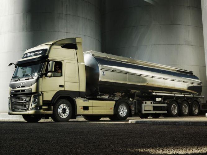 2013 Volvo F-M 410 4x2 semi tractor wallpaper