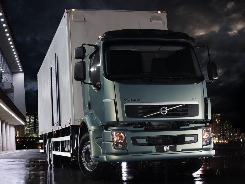 2012 Volvo V-M 270 6x2 semi tractor wallpaper