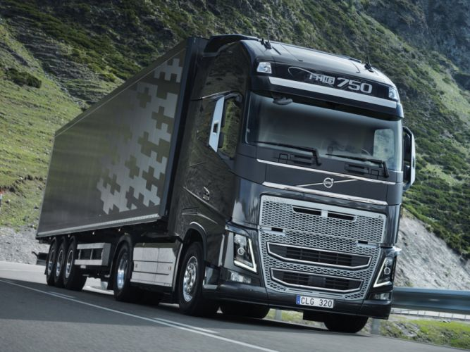 2012 Volvo FH16 750 4x2 semi tractor wallpaper