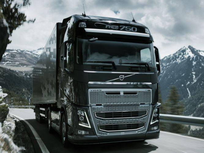 2012 Volvo FH16 750 4x2 semi tractor wallpaper
