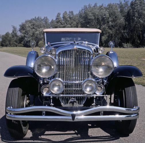 1929 Duesenberg Model-J 355-2225 Convertible Sedan SWB Murphy luxury retro wallpaper