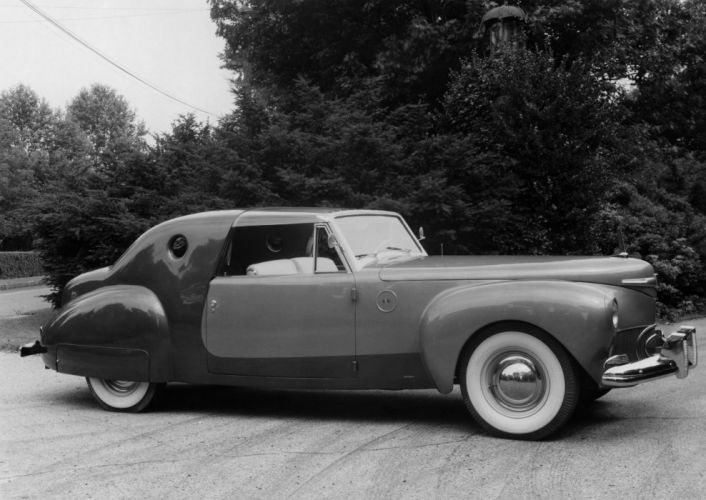 1941 Lincoln Continental Coupe Special Loewy Derham luxury custom retro wallpaper