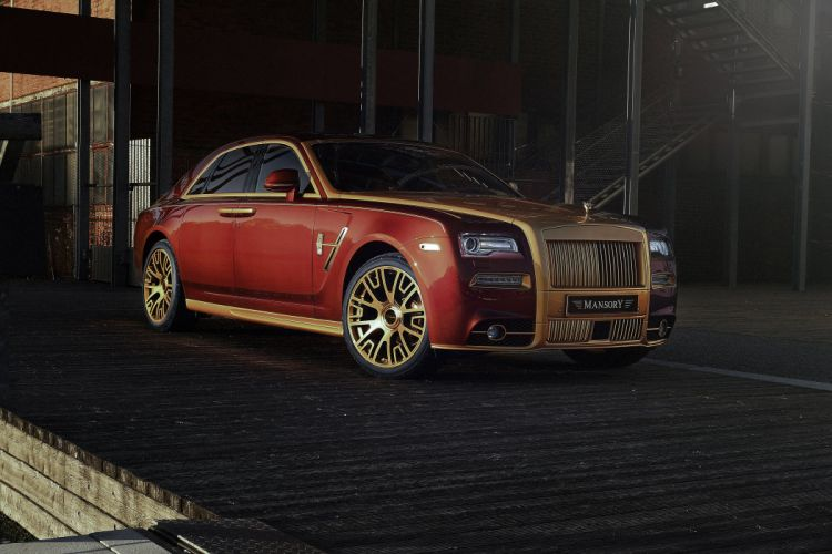 2014 Mansory Rolls Royce Ghost luxury wallpaper