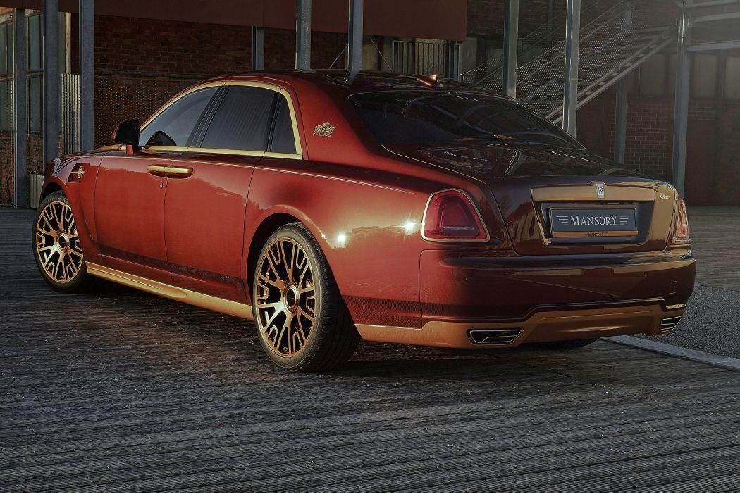 2014 Mansory Rolls Royce Ghost luxury wallpaper