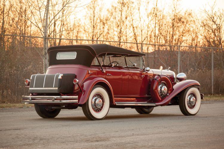 1931 Chrysler Imperial Dual Cowl Phaeton LeBaron (C-G) luxury wallpaper