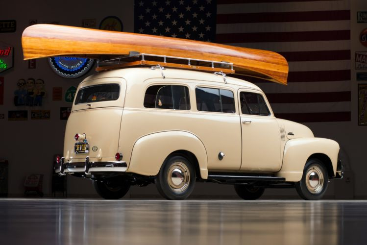 1953 Chevrolet 3100 Suburban (H-3116) suv stationwagon retro wallpaper